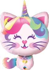 Caticorn Super Shape Foil Balloon